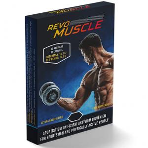 Revo Muscle κριτικές, λειτουργία, skroutz, στα φαρμακεία, τιμή, Ελλάδα, φόρουμ, το κτήριο μυών